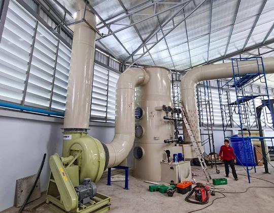 factory3 ระบบบำบัดอากาศเสีย